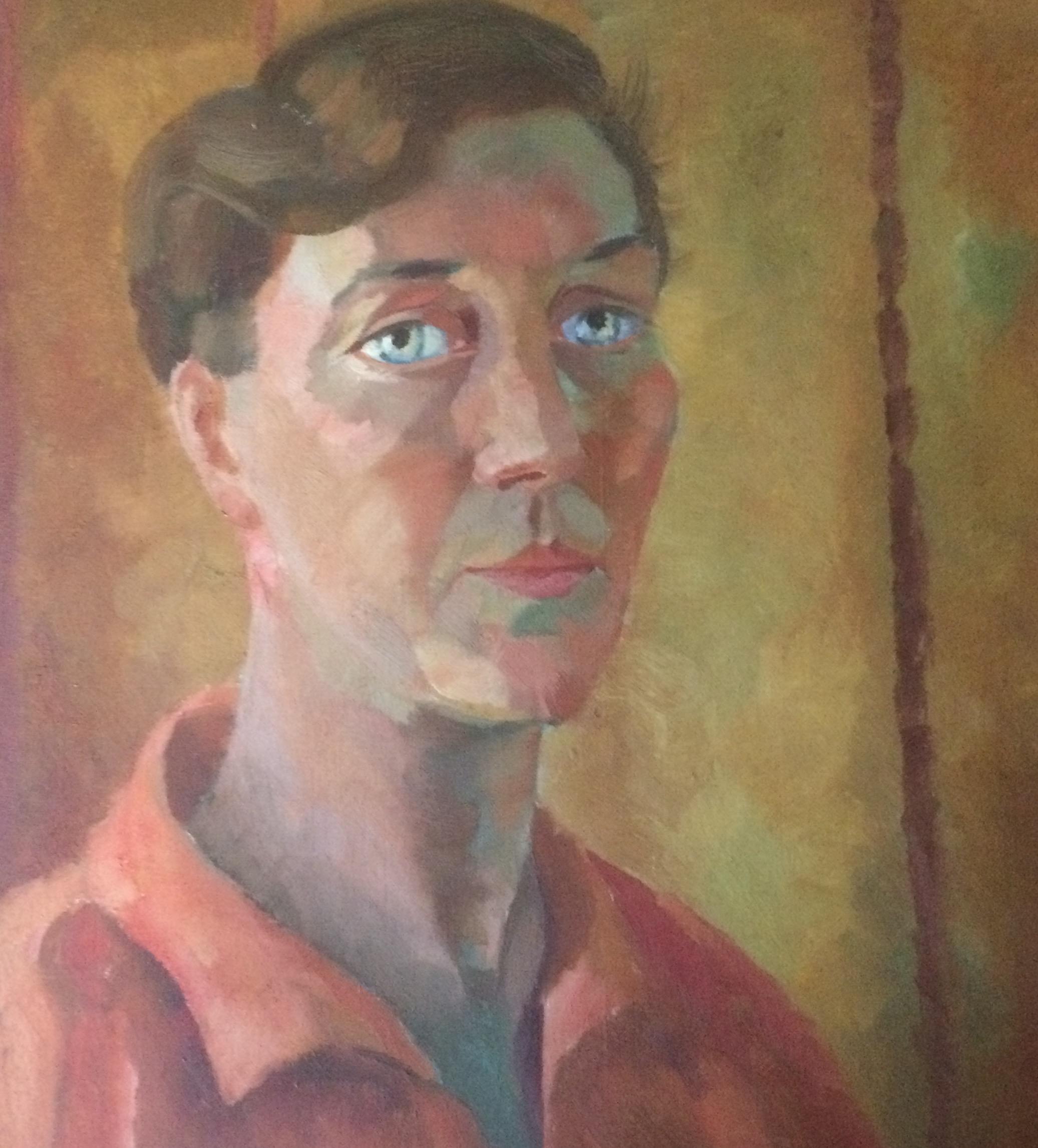 Ru Paré - Zelfportret in kleur