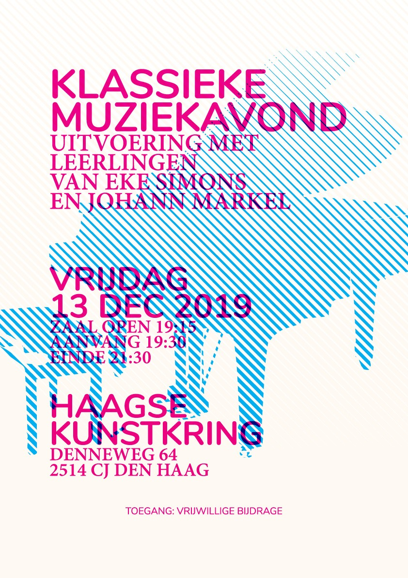 Leerlingenconcert 13 december 2019